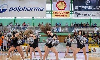 Tyskie Cup 2017: finał Alex Team - Cheerleaders Polpharma Starogard Gdański