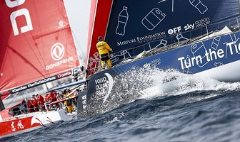 Start Volvo Ocean Race w Alicante (galeria)