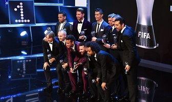 FIFA The Best: Cristiano Ronaldo, Lionel Messi, Neymar. Zobacz z kim przyszli na galę (galeria)