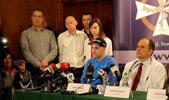 Konferencja prasowa z udziałem Tomasza Golloba (galeria)