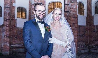 Iga Baumgart wzięła ślub. Jej suknia robi wrażenie (galeria)