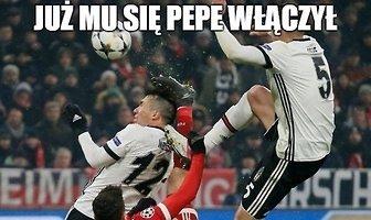 Lewandowskiemu włączył się Pepe. Zobacz memy po meczach Ligi Mistrzów