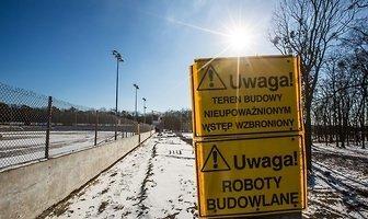 Modernizacja stadionu MRGARDEN GKM-u Grudziądz (galeria)