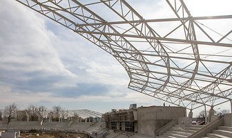 Budowa stadionu żużlowego w Łodzi (galeria)