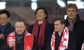 Politycy i gwiazdy sportu. Zobacz VIP-ów na meczu Polska - Korea Płd. (galeria)