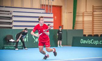 Puchar Davisa: Daniel Michalski - Mark Chigaazira (galeria)