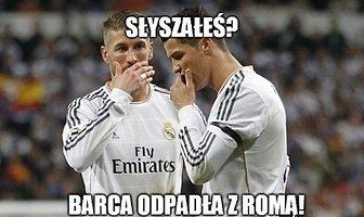 """""""Słyszałeś? Barca odpadła z Romą!"""". Zobacz memy po klęsce Barcelony w LM"""