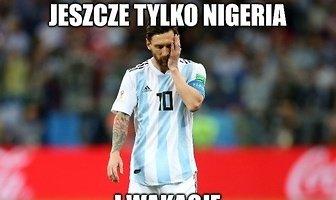 Mundial 2018. Załamany Messi, uradowani... Szczęsny i Krychowiak. Memy po klęsce Argentyny (galeria)
