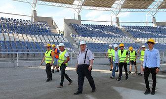 Wizyta zawodników na stadionie Orła (galeria)