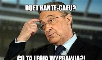 """""""Duet Kante-Cafu? Co ta Legia wyprawia"""". Zobacz memy po wygranej mistrzów Polski w el. LM"""