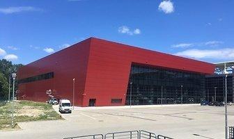 Nowa hala meczowa przy al. Unii w Łodzi (galeria)