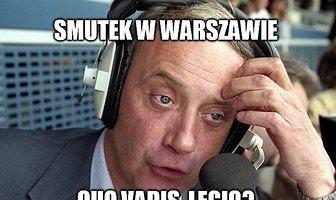 """""""Quo vadis, Legio?"""". Zobacz memy po sensacyjnej porażce mistrzów Polski"""
