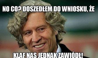 """""""Klaf nas jednak zawiódł!"""". Memy po zwolnieniu Deana Klafuricia z Legii Warszawa (galeria)"""