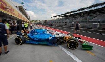 Testy F1: Kubica jeździł na Węgrzech (galeria)