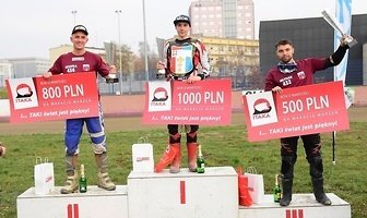 Karol Żupiński zwycięzcą Pitbike Speedway Grand Prix w Bydgoszczy (galeria)