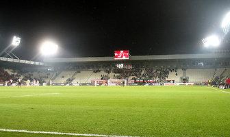 Kibice podczas meczu Cracovia - Pogoń (galeria)