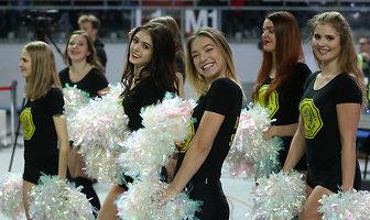 Cheerleaders Toruń na meczu Polskiego Cukru z GTK Gliwice (galeria)