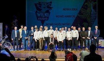 Prezentacja drużyny Wilki Krosno (galeria)