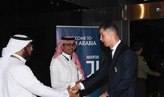 Juventus zameldował się w Arabii Saudyjskiej (galeria)