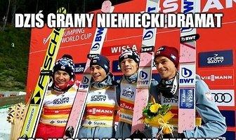 Zagrali niemiecki dramat. Zobacz memy po sukcesie Polaków w Willingen
