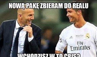 """""""Nową pakę zbieram do Realu"""". Internauci komentują powrót Zidane'a"""