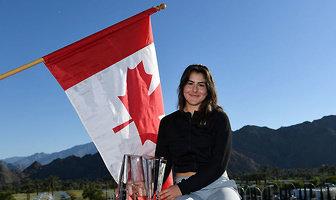 Niesamowita radość Bianki Andreescu. Młoda Kanadyjka mistrzynią w Indian Wells (galeria)