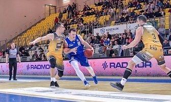AZS Koszalin - Arged BM Slam Stal Ostrów Wielkopolski 76:123 (galeria)