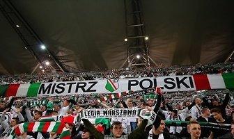 Kibice podaczas meczu Legia Warszawa - Piast Gliwice (galeria)
