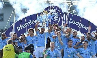 Premier League. Oszaleli z radości. Tak Manchester City świętował tytuł mistrzowski (galeria)