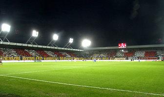 Kibice podczas meczu Cracovia - Lech Poznań (galeria)