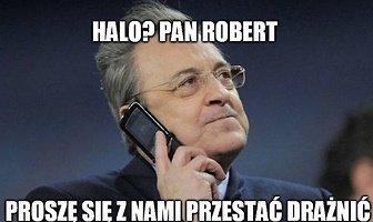 """""""Halo? Pan Robert"""". Zobacz memy po triumfie Bayernu w Pucharze Niemiec"""