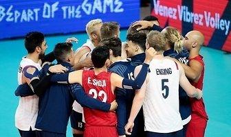 Liga Narodów: Francja - USA  1:3 (galeria)