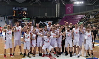 Mecz Gortat Team - Wojsko Polskie (galeria)