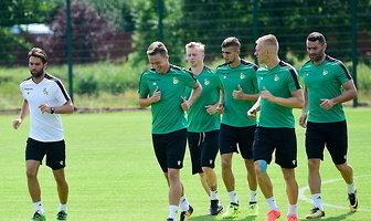 Trening piłkarzy GKS-u Bełchatów przed inauguracją Fortuna I ligi (galeria)