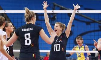 Mistrzostwa Europy siatkarek: Belgia - Ukraina 3:0 (galeria)