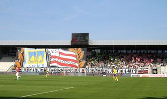 Kibice podczas meczu Cracovia - Arka Gdynia (galeria)