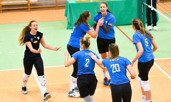 Turniej o Puchar Burmistrza Wielunia: Grot Budowlani Łódź - E.Leclerc Radomka Radom 3:0 (galeria)