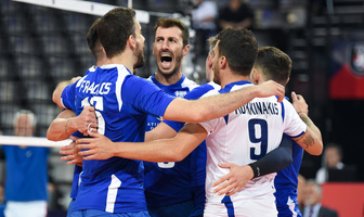Mistrzostwa Europy siatkarzy 2019: Faza grupowa: Rumunia - Grecja  1:3 (galeria)