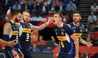 Mistrzostwa Europy siatkarzy 2019: Faza grupowa: Włochy - Bułgaria 3:1 (galeria)