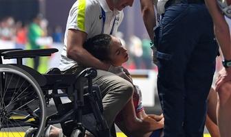 Lekkoatletyka. MŚ 2019 Doha. Znów dramatyczne chwile na trasie chodu. Zasłabnięcia chodziarek (galeria)
