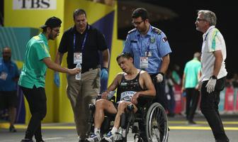 Mistrzostwa świata w lekkoatletyce Doha 2019. Znów dramatyczne chwile. Tym razem na trasie maratonu (galeria)