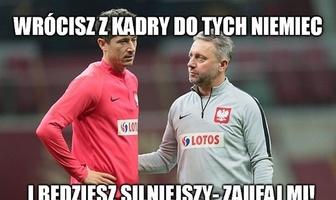 """Liga Mistrzów. """"Po kadrze strzelam jak szalony"""". Zobacz memy po dublecie Roberta Lewandowskiego"""