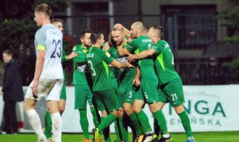 Fortuna I liga: Puszcza Niepołomice - Warta Poznań 0:2 (galeria)