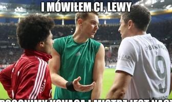 Bundesliga. Robert Lewandowski bohaterem memów po rozbiciu Borussii Dortmund (galeria)