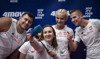 Niezwykła akcja polskich olimpijczyków. Trenowali wspólnie z kibicami (galeria)