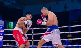 Boks. MB Boxing Night 6: Krzysztof Twardowski znokautował Krzysztofa Zimnocha (galeria)