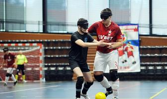 Wisła Kraków Blind Football liderem Ligi Centralnej Europy (galeria)