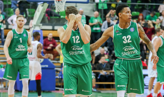 Stelmet Enea BC Zielona Góra - Lokomotiv Kubań Krasnodar 83:85 (galeria)