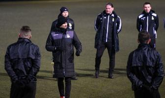 Fortuna 1 liga: GKS Bełchatów rozpoczął treningi przed rundą wiosenną (galeria)