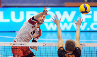 Krispol 1. Liga: AZS AGH Kraków - SPS Chrobry Głogów 3:0 (galeria)